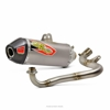 T-6 Titanium Stainless Full Exhaust