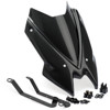 Naked New Gen Sport Windscreen - Carbon Fiber Look - For 20-21 Kawasaki Z650