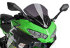 Z-Racing Windscreen - Dark Smoke - For 18-21 Kawasaki Ninja 400