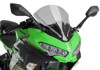 Z-Racing Windscreen - Smoke - For 18-21 Kawasaki Ninja 400