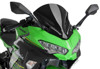 Z-Racing Windscreen - Black - For 18-21 Kawasaki Ninja 400