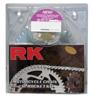 520MXZ4-114 Chain 13/50 Silver Aluminum Sprocket Kit - RK Excel Chain & Sprocket Kit