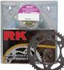 GB520MXZ4-114 Chain 13/50 Black Aluminum Sprocket Kit - RK Excel Chain & Sprocket Kit