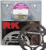 520MXZ4-114 Chain 13/50 Black Aluminum Sprocket Kit - RK Excel Chain & Sprocket Kit