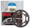 530GXW-114 Chain 18/43 Black Aluminum Sprocket Kit - For Gen. 2 Suzuki Hayabusa