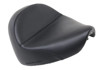 Renegade Deluxe Plain Solo Seat Black Gel - For 09-17 Yamaha XVS950 V-Star
