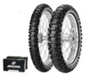 110/90-19R 80/100-21F Mid Hard MXMH 554 - Dirt Tire Kit w/ Tubes