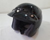 RJ Platinum R Motorcycle Helmet Black Medium
