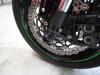 Shogun Black Front Axle Sliders - 11-15 Kawasaki ZX10R