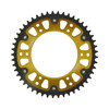 Stealth Rear Sprocket 47T Gold - BMW F650 G650