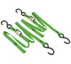 "Green Classic Tie-Downs 66""x1"" Pair - 1200lbs, Cam Buckle"