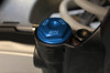 Rear Brake Cap Blue