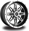 BADLANDS MACHINED WHEEL 12X7 4X110 2+5