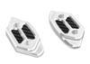 Mirror Hole Cap Kit Silver - 10-16 Yamaha R6
