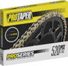 Pro Series Forged 520 Slim O-Ring Chain Chain - Gold 120 Links