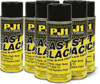 Case of 6 - Fast Black 1500f High Temp Paint, Flat Finish, 11oz Aerosol