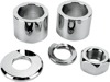Chrome Front Wheel Spacer Kit - Replaces H-D # 41901-08 on 08-19 FLH/T W/Out ABS