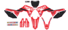 2019 Geico Honda Complete Graphics Kit Black - For 2018 CRF250R