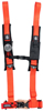 "4PT Harness 2"" Pads Orange"