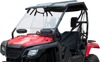 Versa-Vent Windshield - Scratch-Resistant Polycarbonate - For Honda Pioneer 500