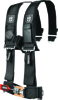 "4PT Harness 3"" Pads Black"