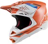 Supertech S-M8 Contact Helmet Orange/Grey 2X-Large