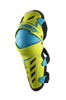 Lime/Blue Knee & Shin Guard Dual Axis - XX-Large