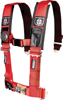 "4PT Harness 3"" Pads Red"