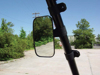 "Side View Mirror w/ 1.8"" - 2"" Bar Tube Clamp - For Teryx & Mule & More"