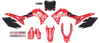 2019 Geico Honda Complete Graphics Kit Black - For 14-17 CRF250R