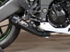 Black GP Full Exhaust w/ Stainless Tubing - For 08-10 Kawasaki ZX10R
