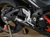 Black GP Full Exhaust w/ Stainless Tubing - For 07-08 Suzuki GSXR1000