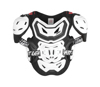 White Chest Protector 5.5 Pro HD - Standard Size
