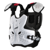 White 3.5 Chest Protector Pro