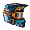 Blue Moto 7.5 Helmet Kit (DOT+ECE) with 4.5 goggles - Small 55-56cm