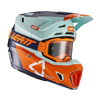 Ice Moto 7.5 Helmet Kit (DOT+ECE) with 4.5 goggles - Small 55-56cm